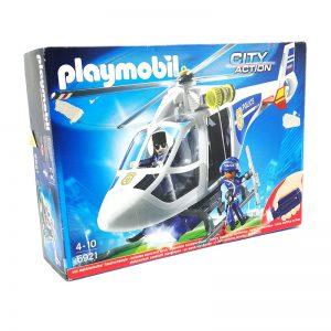 Playmovil Helicoptero De Policia 6921