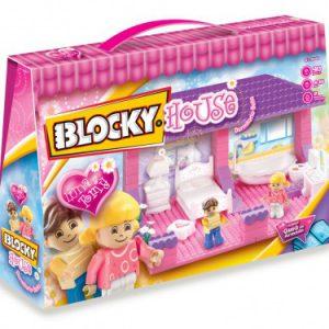 11132 Blocky House Dormitorio baño 90u