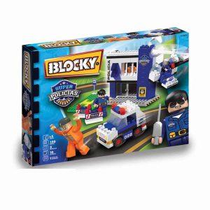 15113 Blocky Policia 150 Piezas