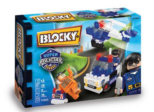15527 Blocky Super Policia x70