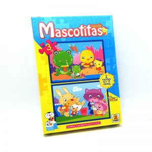 Implas Puzzle Progresivo x8 Y x12 Mascotitas
