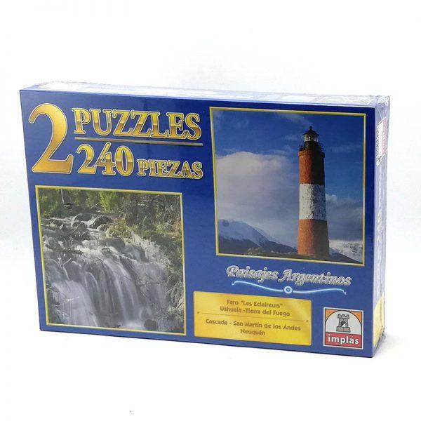 Rompecabezas Puzzle Paisajes Argentinos x240 Piezas