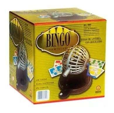 Bingo Con Bolillero