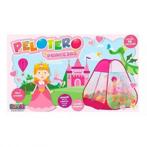 Pelotero Igloo Princesas Con 75 Pelotas Art Fd7701