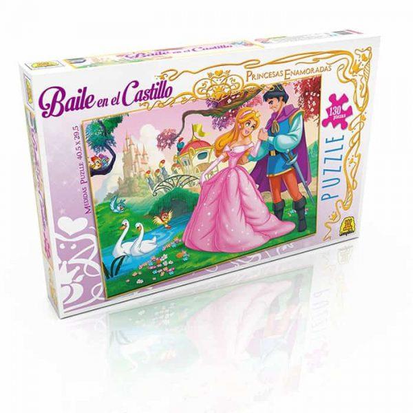Puzzle Baile en el Castillo x130 Piezas