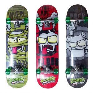 Skate Zombie Art Fd 107