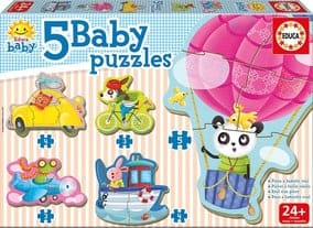 Toyco Baby Puzzle X5