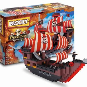 Blocky Barco Pirata 560 piezas