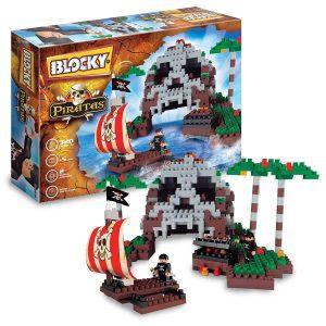 Blocky Piratas con balsa 320 piezas