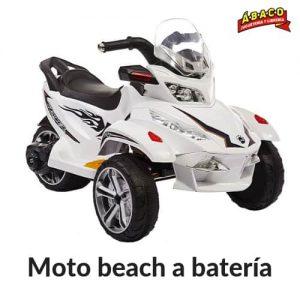 Moto beach a batería
