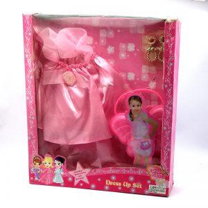 Disfraz Rosa En Caja
