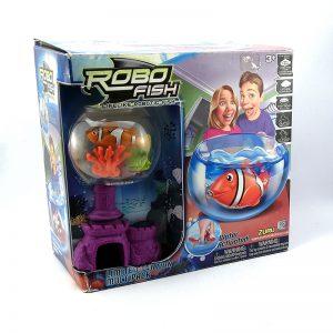 Robo Fish Pecera C/ Pez Y Coral