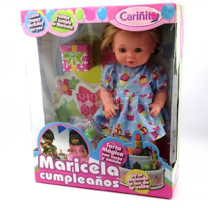Muñeca Maricela Cumpleaños