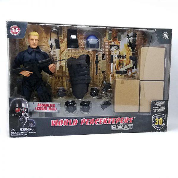 Figura Swat C/accesorios