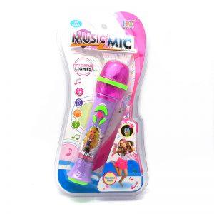 Microfono De Mano Musical con luz