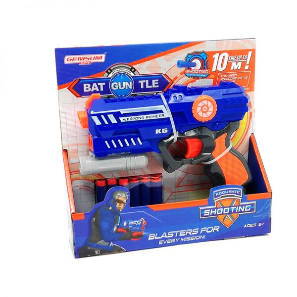 Pistola Lanza Dardos Mediana Blasters