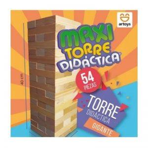 Torre Didactica Gigante Maxi Jenga 54 piezas