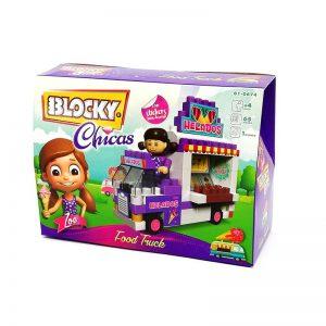 Blocky Chicas Food Truck 65 Piezas
