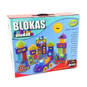 JNG Blokas Ciudad 30 Piezas