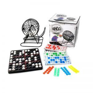 Bingo con Bolillero Alambre 48 Cartones