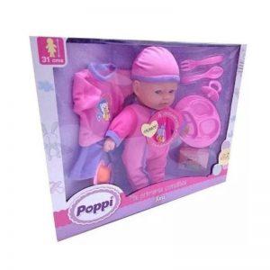 Muñeca Poppi Mis Primeras Comiditas