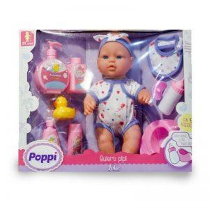 Muñeca Poppi Quiero Pipi