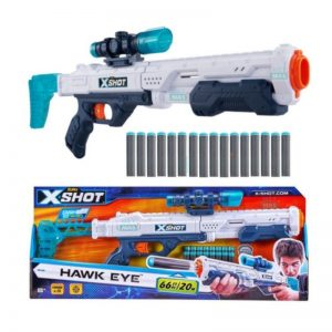 Pistola Dardos X-Shot Hawk Eye