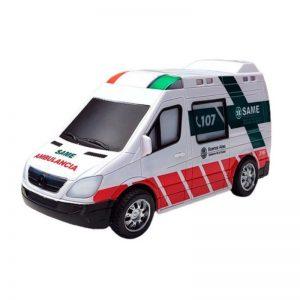 Ambulancia a Pila SAME