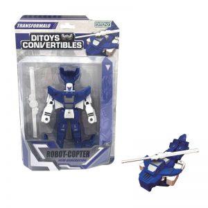 Robot Copter Convertible